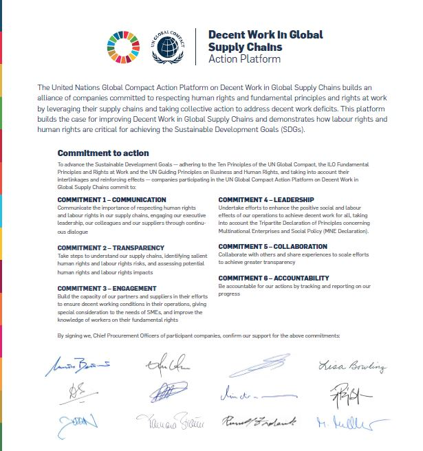 Decent Work in Global Supply Chains | UN Global Compact