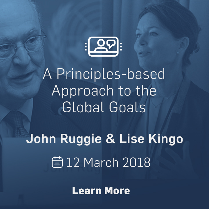 A Principles-based Approach to the Global Goals