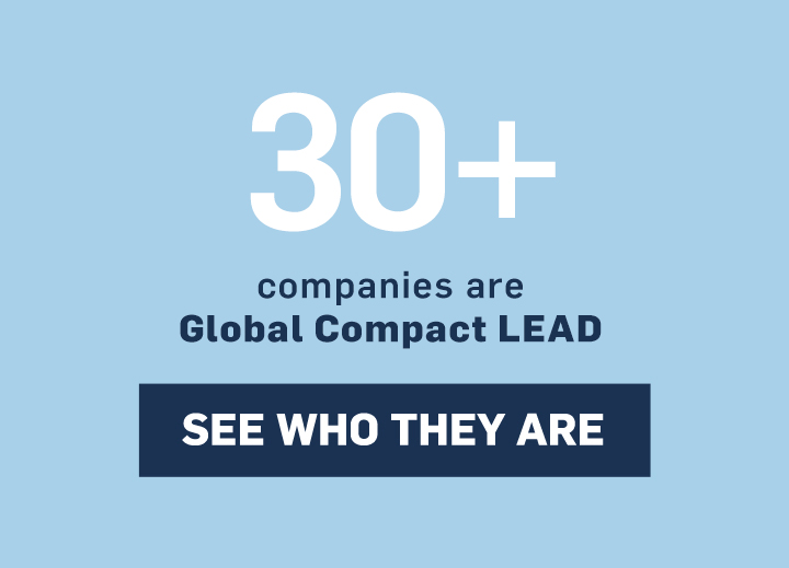 30+ companies have made a commitment to LEAD