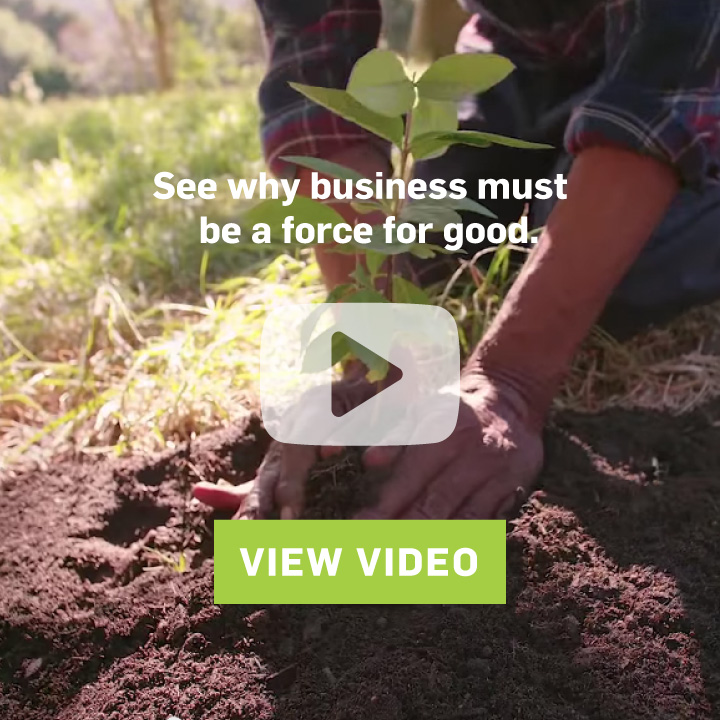 Why business must be a force for good